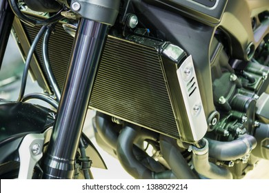 Radiator cooling for motorcycle and bigbike.