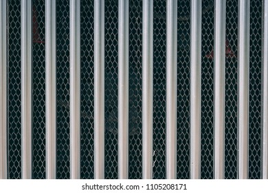 Radiator grille of old rusty russian car close up. Front view.texture