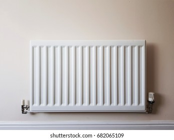 Radiator on a wall
