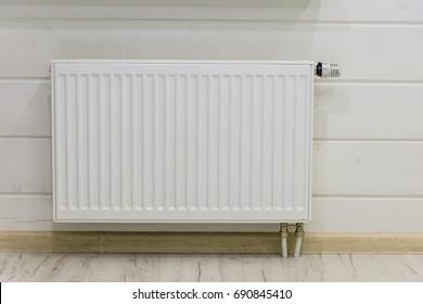 Radiator on the wall
