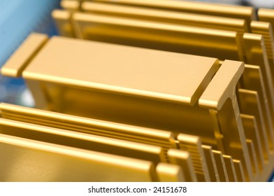 radiators texture of computer