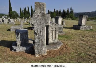 Radimlja Necropolis Albania