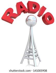 Radio antenna in 3D