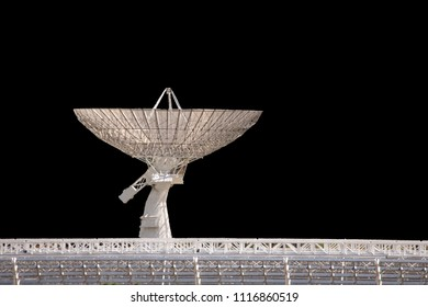Radio Astrophysical Observatory   dish isolated