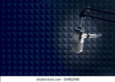 radio  broadcasting professional Microphone
