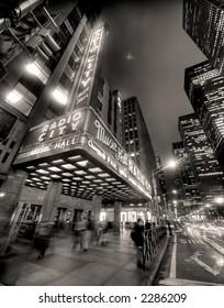 radio city hall - manhattan - new york