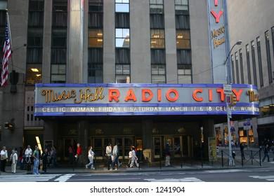 radio city music hall, nyc