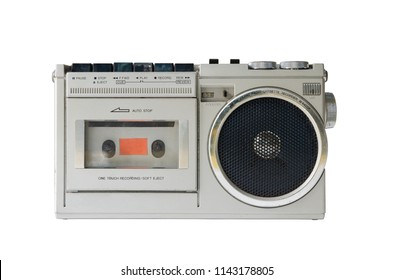 radio isolate white background