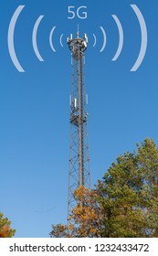 Radio mast , new mobile radio frequency 5G
