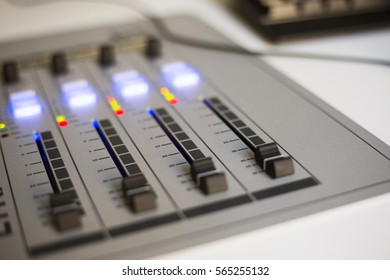 Radio mixing console