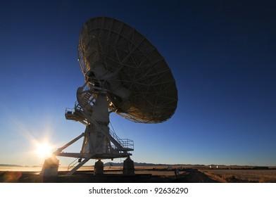 Radio Telescope in New Mexico USA