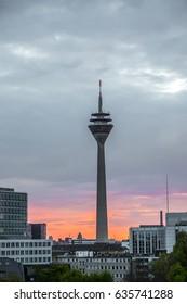 Radio tower Düsseldorf 2 / Germany / May 2017