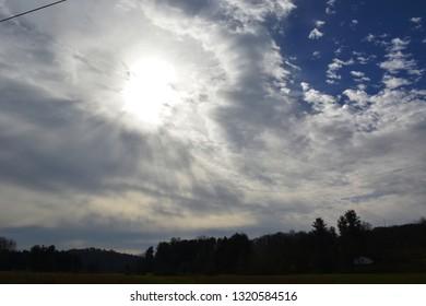 Radioactive Sun Screen