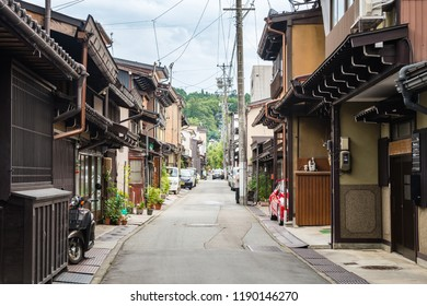 raditional takayama town at Gifu prefecture, Japan