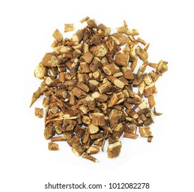 radix bupleuri, chinese herbal medicine isolated. Chai Hu