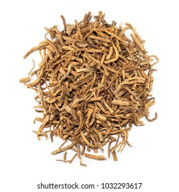 Radix Gentianae, chinese herb medicine isolated. Long Dan Cao