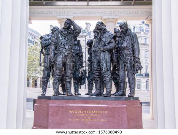 RAF Bomber Command Memorial London UK