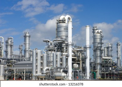 Rafinery Pernis in Holland - biggest refinery in the world