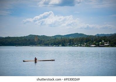 Raft water view