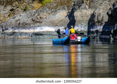 Rafting on the Wild and Scenic Rouge River in Southern Oregon, USA