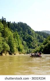 rafting at river - Dunajec - Poland