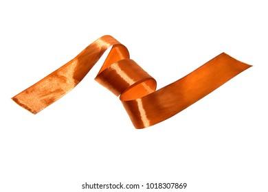 rag tape isolated on white background