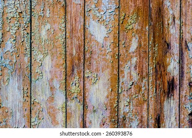 ragged old cracked paint