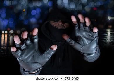 a raid at night