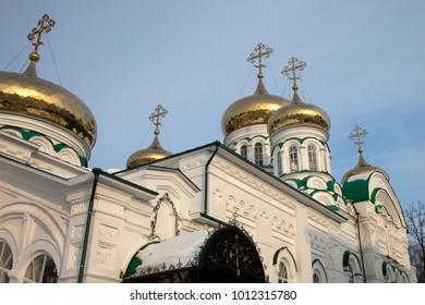 Raifa. Raifa Bogoroditsky Monastery. The Cathedral of the Life-Giving Trinity