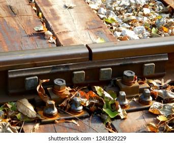 Rail Joint, Rail Bond, Detail, Old