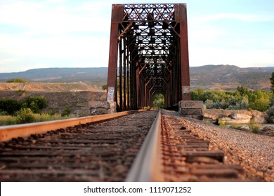 rail road bridge over Colorado River, Grand Junction Colorado