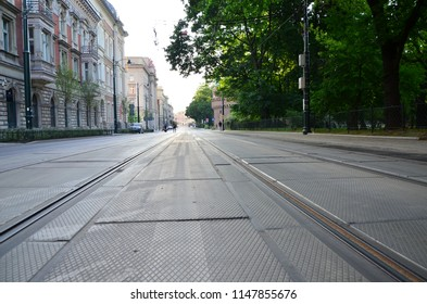 Rail road in Krakow