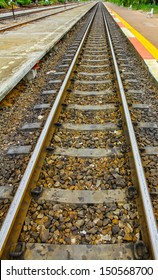The rail for transport train.