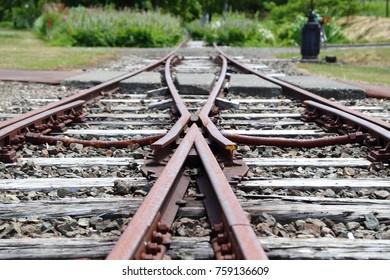Rail, Waste line