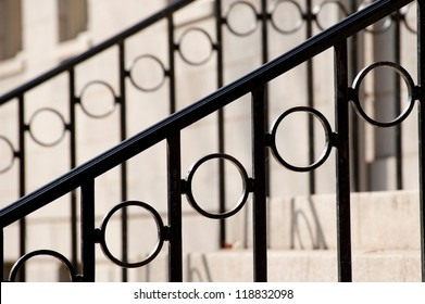 Railing of a staircase
