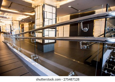 railing,stainless steel railing pole and holder at the balcony get rusty