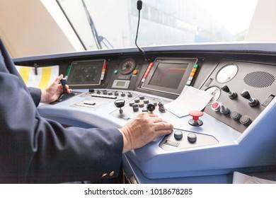 Railroad engineer. Train driver.