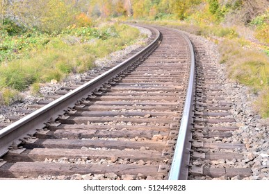 Railroad, railway and tracks