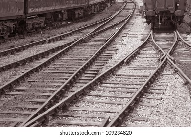 Railroad Track and Carriages