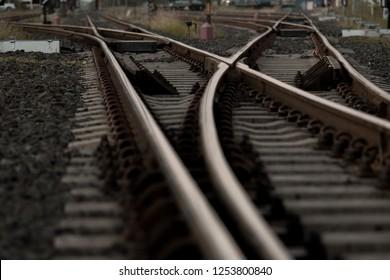 Railroad tracks in Thailand