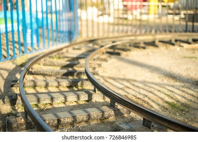 Rails details of train for small kids