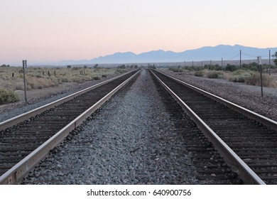 Railtrack at sunset