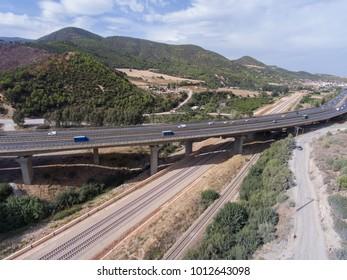 Railway bridge road