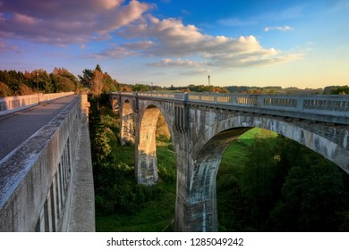railway bridges in Stańczyki in Masuria in Poland