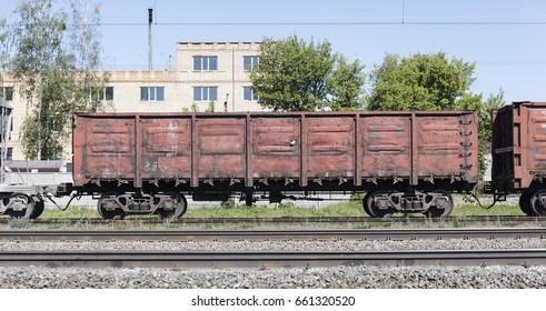 railway freight wagon