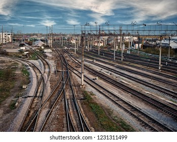Railway industry in the city