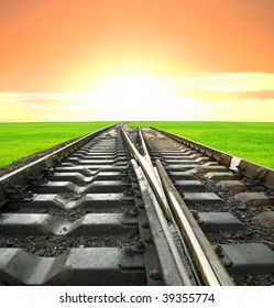 railway leaving far