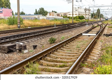 Railway. The nodal junction of railways of Ukraine. Rail transport infrastructure. Reduced logistical burden on the rail during the crisis.