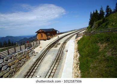railway on the Schafberg
