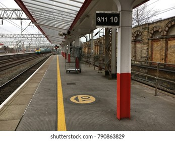 Railway Station, Crewe, England
